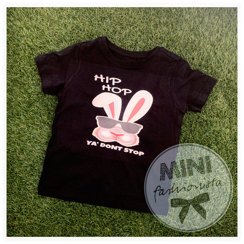 Hip hop unisex Easter bunny top