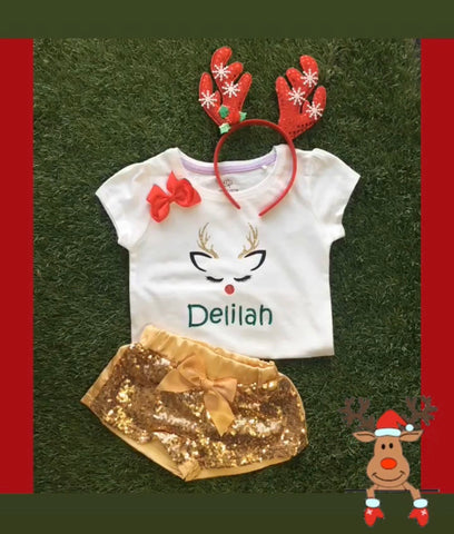 Reindeer short sets on sale