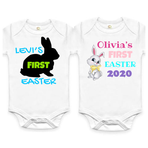 First Easter onesies