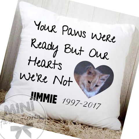 Custom pet / animal cushion covers