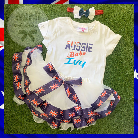 Aussie babe custom set