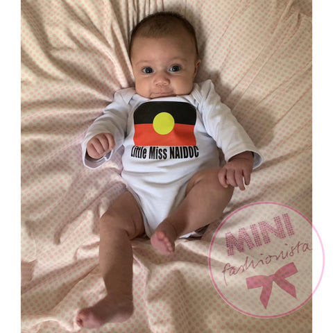 Custom NAIDOC romper/ headband/ shirt sets