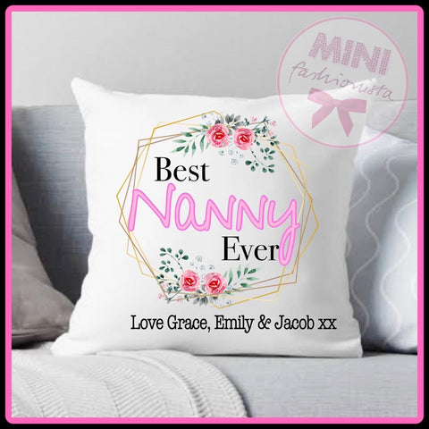 Best nanny ever - custom cushion cover