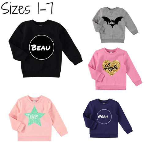 Custom name jumpers 1-7