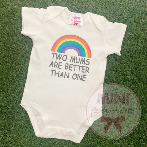 Two mums / two dads romper or shirt
