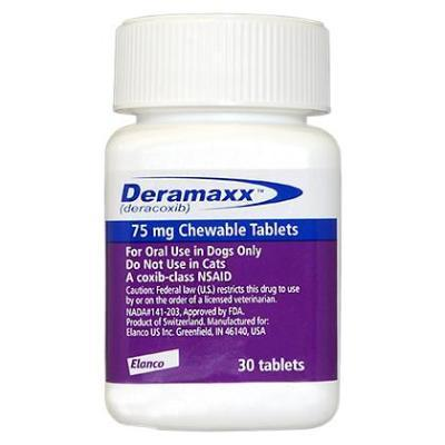 Deramaxx 75 mg, Sold per tablet