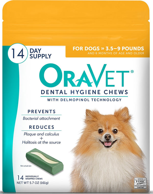 OraVet Dental Hygiene Chews for Dogs 14 days