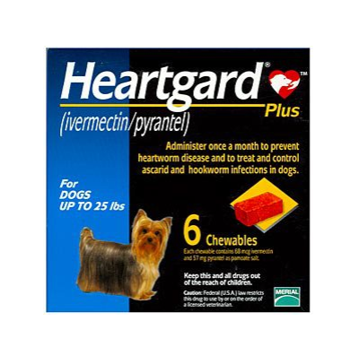 Heartgard® Dogs, 0-25Lbs