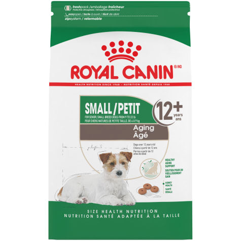 Royal Canin Size Health Nutrition Mini Aging 12+ Dry Dog Food, 2.5 lbs.