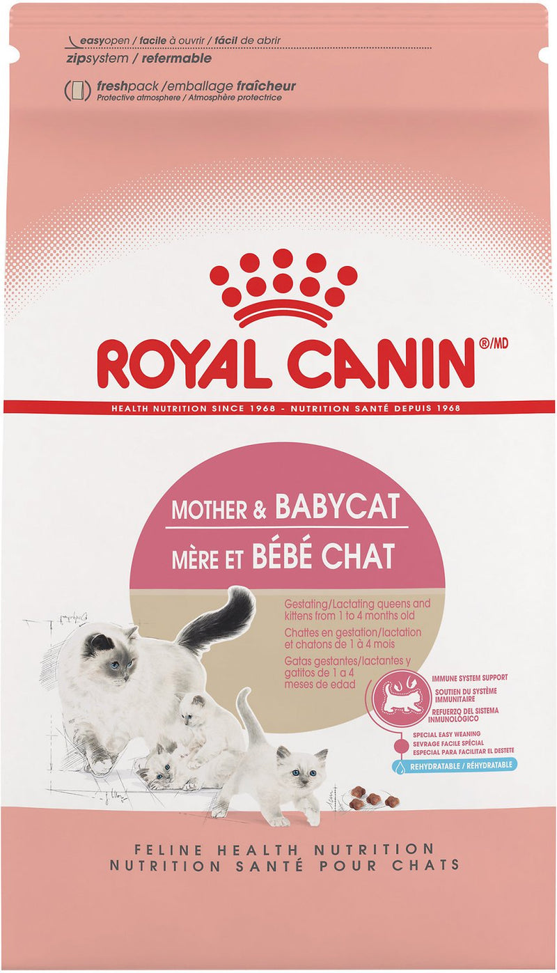 Royal Canin Mother & Babycat Dry Cat Food for Newborn Kittens, Pregnant & Nursing Cats