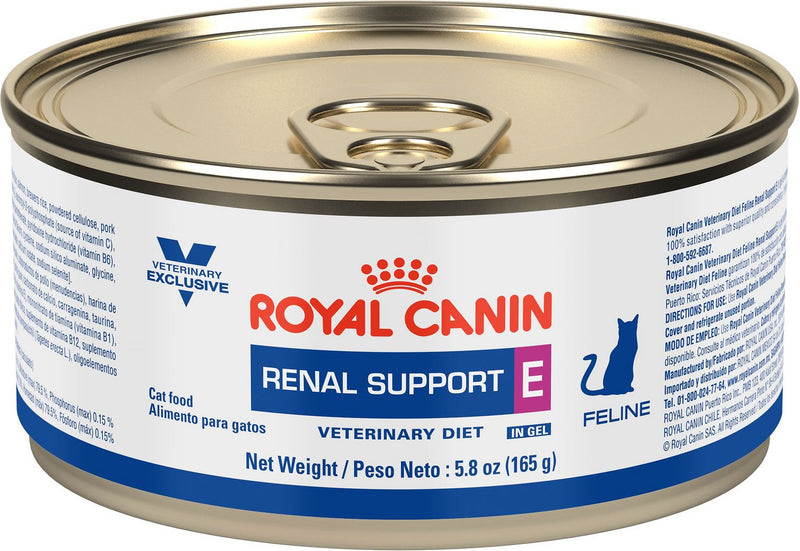 Royal Canin Veterinary Diet Renal Support E Canned Cat Food, 5.8-oz