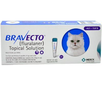 Bravecto for Cats, 6.2 up to 13.8