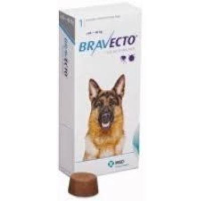 Bravecto Chews for Dogs, 44-88 lbs