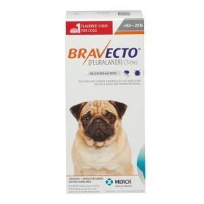 Bravecto Chews for Dogs,  9.9-22 lbs