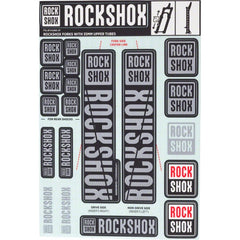 Rockshox Fork Decal Kit - 35mm Forks