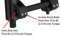 Fox Racing 40 Lower Leg Axle Pinch Bar 2014+