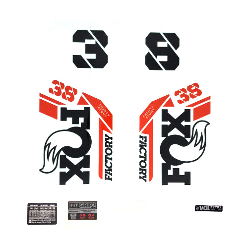Fox Decal kit Factory Series - 38mm 2021
