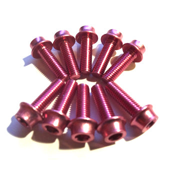 Aluminium Bolt Kit M5 Pink