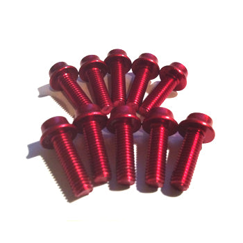 Aluminium Bolt Kit M5 Red