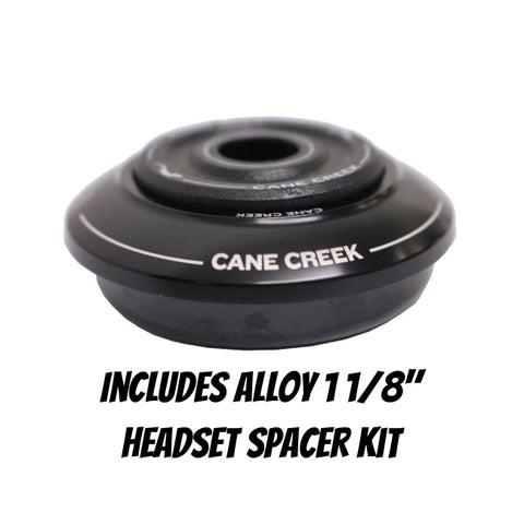 Cane Creek Headset 10-Series ZS44 Short Top + Spacers