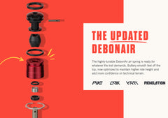 Rockshox Air Spring SealHead Kit DebonAir C1 - MY18+