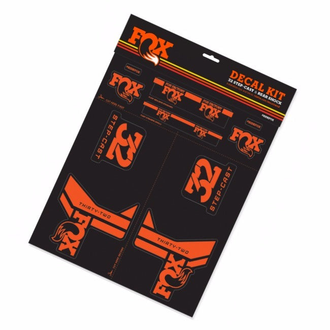 Fox Racing Shox Step-Cast 32 Decal kit 2017-2019
