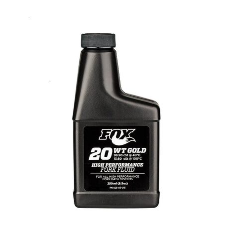 Fox Racing Shox Suspension Oil 20wt Gold 250ml