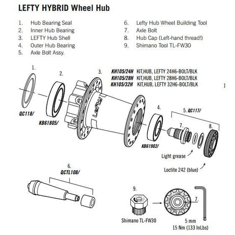 Cannondale Lefty Hub 2014/15