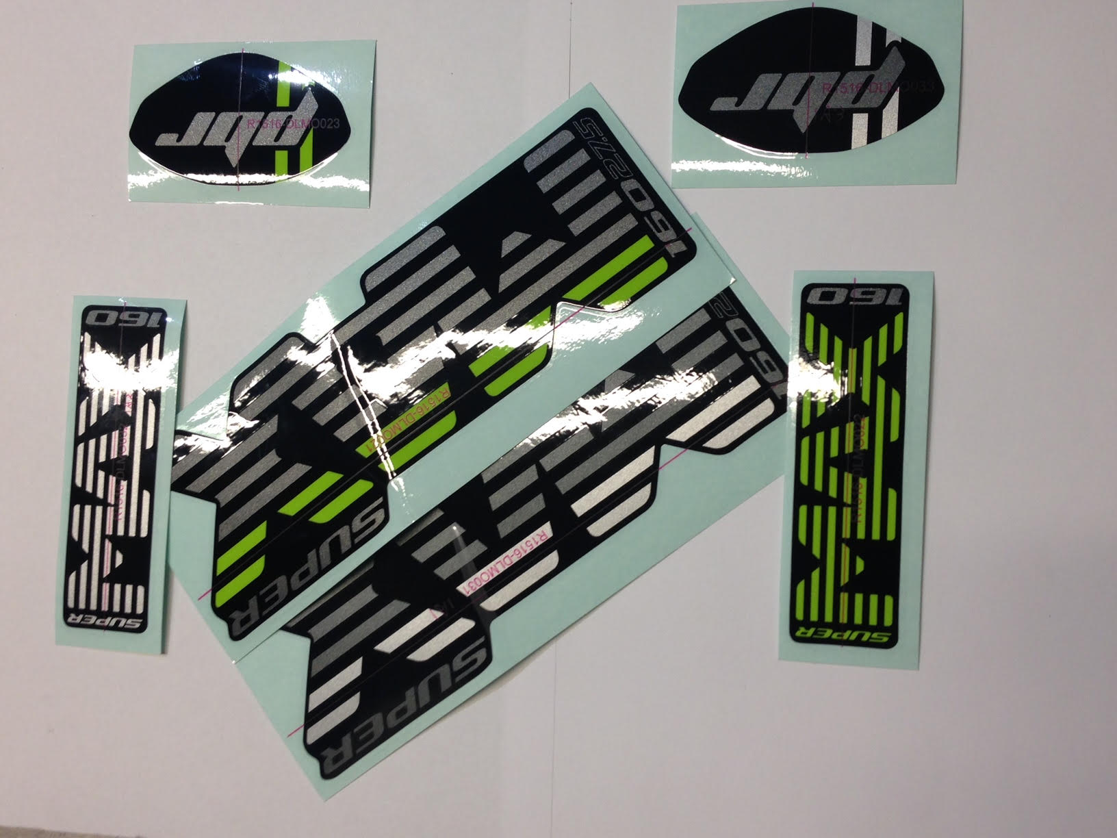 Cannondale Lefty Decal Kit 2016