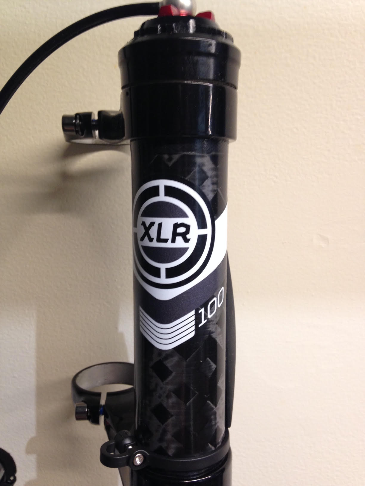 Cannondale Lefty Decal 2014 XLR 90mm 29""