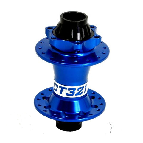 Project 321 Front MTB Disc Hub ISO Blue