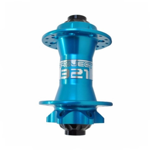 Project 321 Front MTB Disc Hub Turquoise Boost