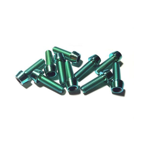 Titanium Bolt Kit M5 Green