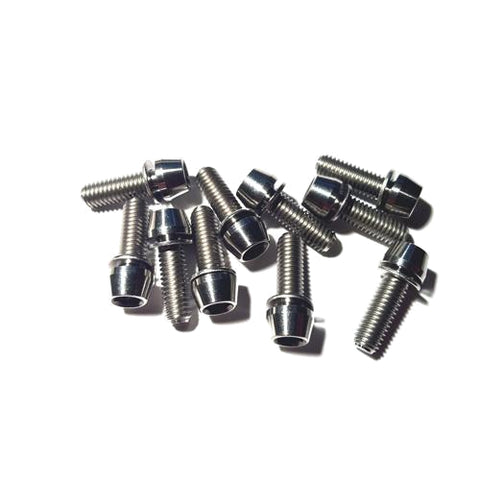 Titanium Bolt Kit M6 x 18mm - Natural