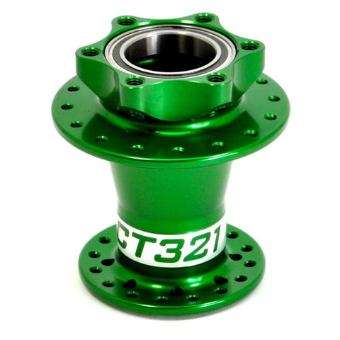 Project 321 Lefty MTB Disc Hub Green