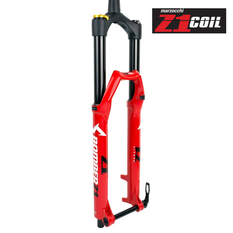 "Marzocchi Bomber Z1 Coil Red 27.5"" 180mm - 2020"