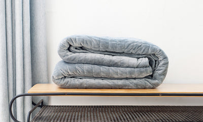 Cozy Up To A Better Night's Sleep With a Weighted Blanket