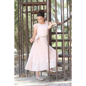 Blush  rustic maxi dress