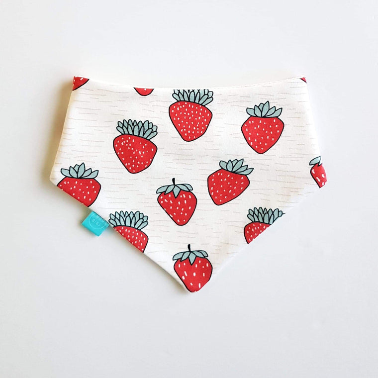 Strawberry Bandana Bib