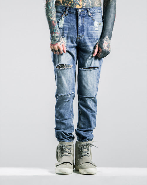 THE JASON X RIPPED JEANS