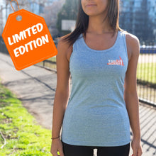 Womens Light Blue Athletic Singlet