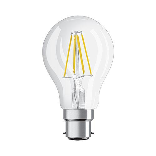 Osram LED Classic A Filament Bulb B22 7W 806lm - Warm White