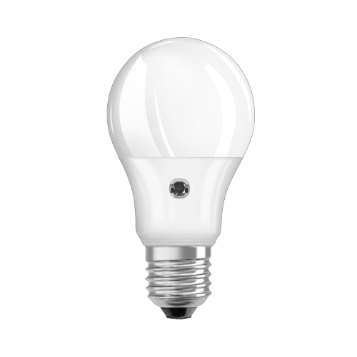 Led Daylight Sensor Bulb 7W E27 - Cool White