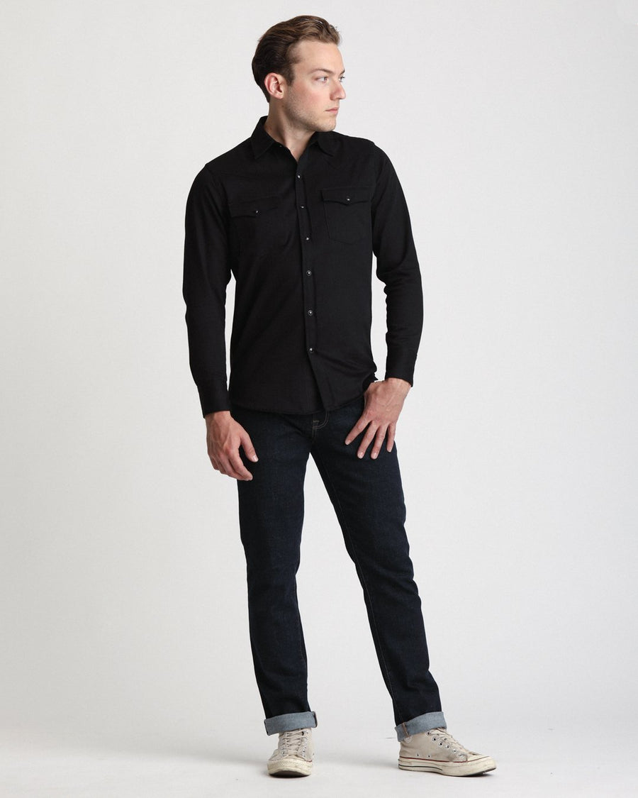 Double Black Denim