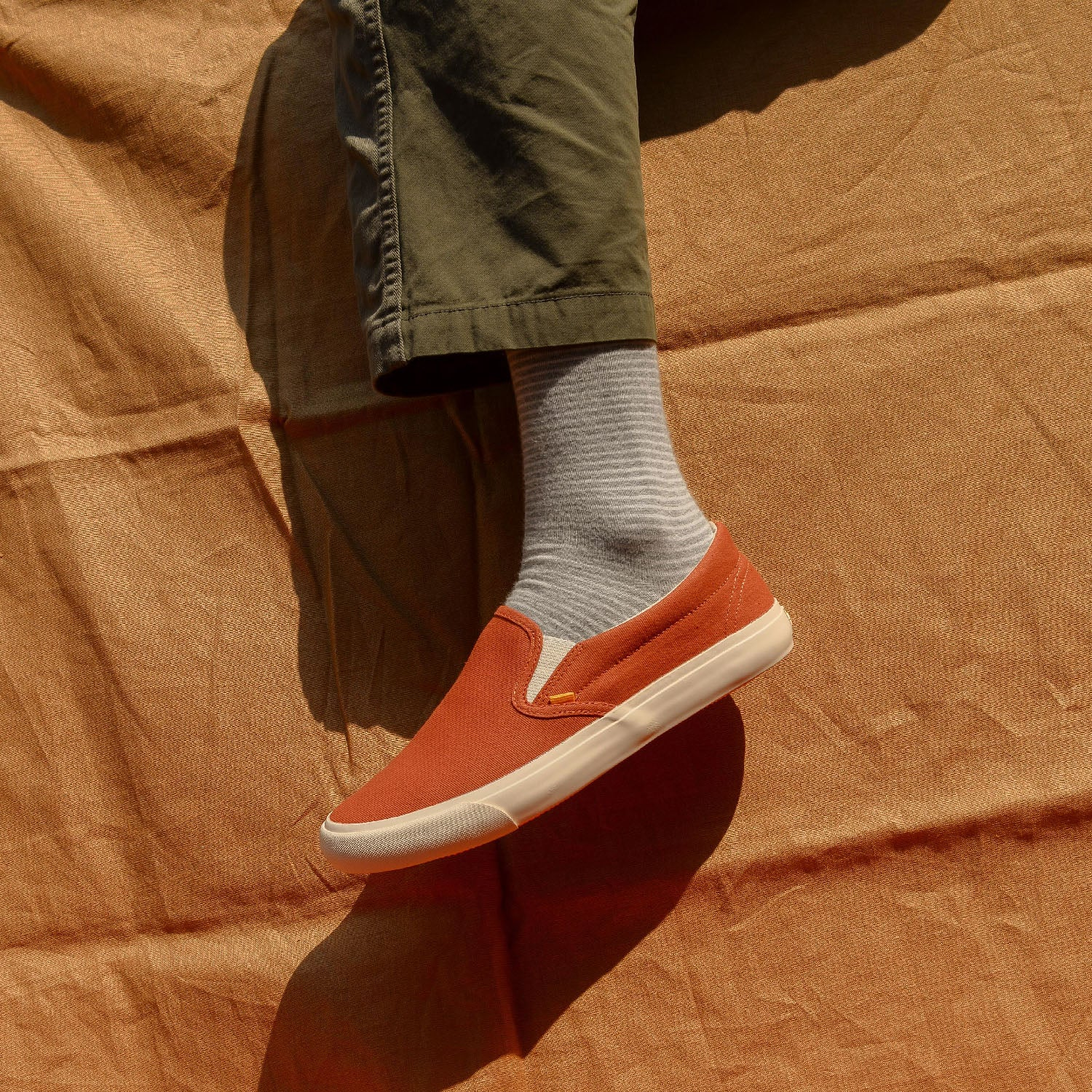 Slip On in Orange
