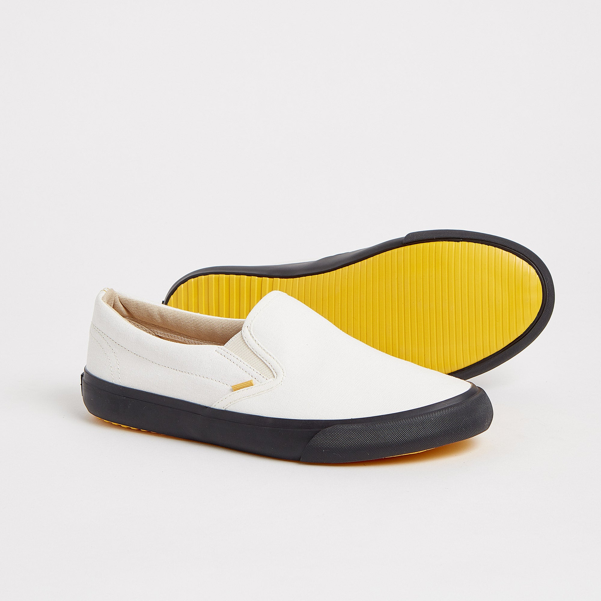 Slip On Coal White