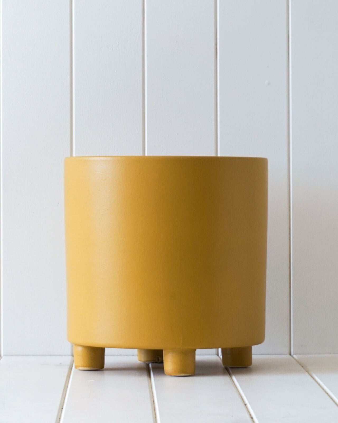 toulouse planter in mustard from rayell
