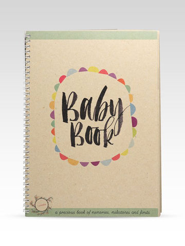 Rhicreative Baby Book at Attitudes Boutique