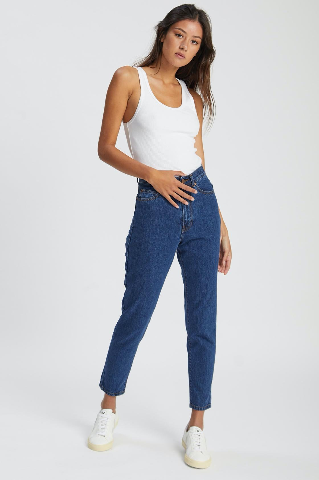 dr denim nora mid retro jeans