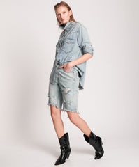 one teaspoon cut off denim shorts